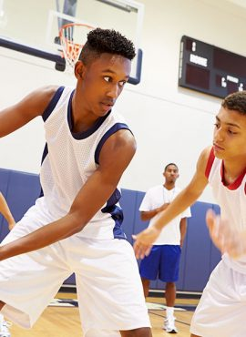Some health benefits on playing basketball sport
